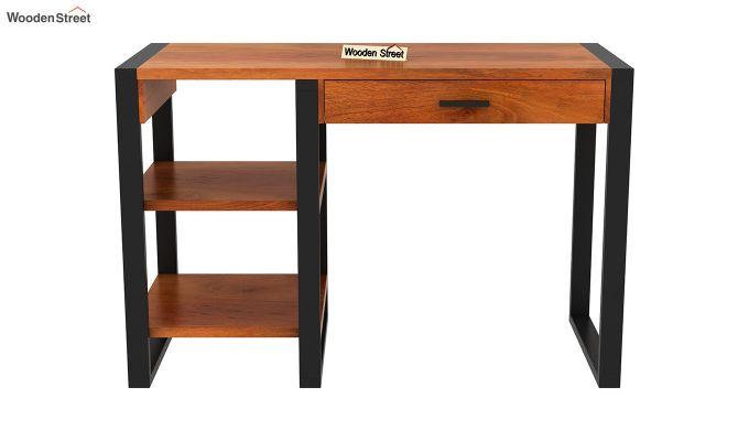 Wally Study Table (Honey Finish)-3