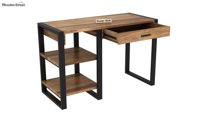Wally Study Table (Natural Finish)-4