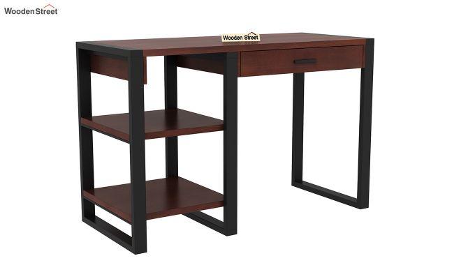 Wally Study Table (Walnut Finish)-2