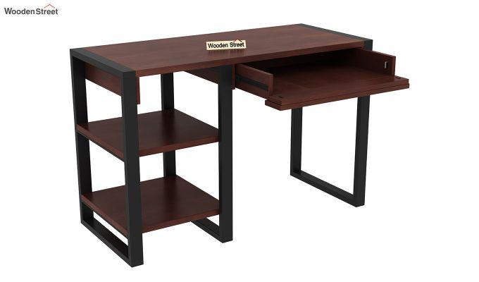 Wally Study Table (Walnut Finish)-5