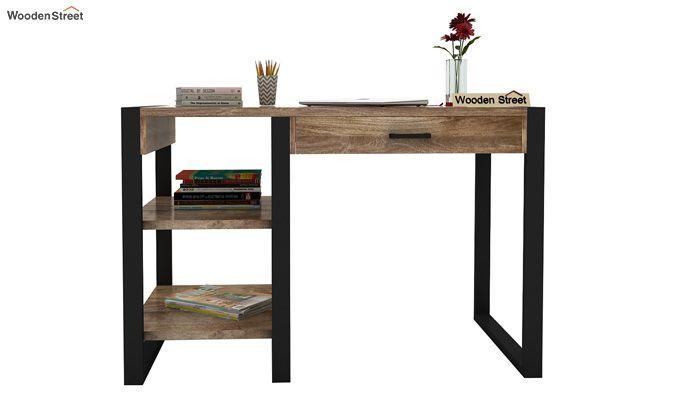 Wally Study Table (Black Finish)-3