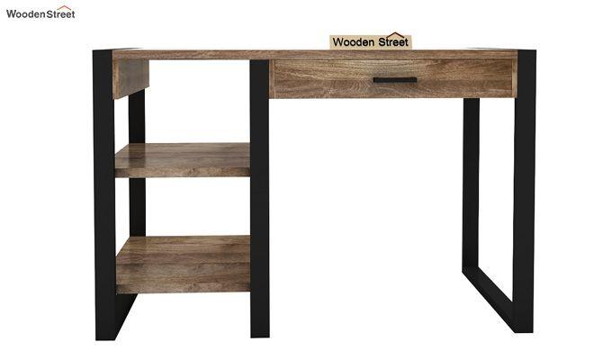 Wally Study Table (Black Finish)-5