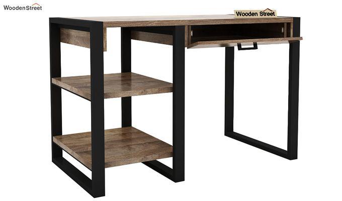 Wally Study Table (Black Finish)-6
