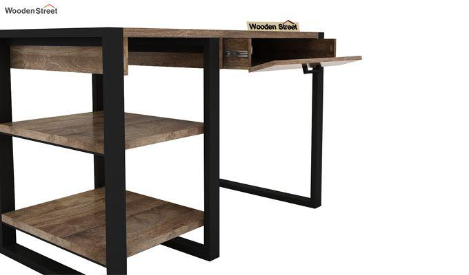 Wally Study Table (Black Finish)-8