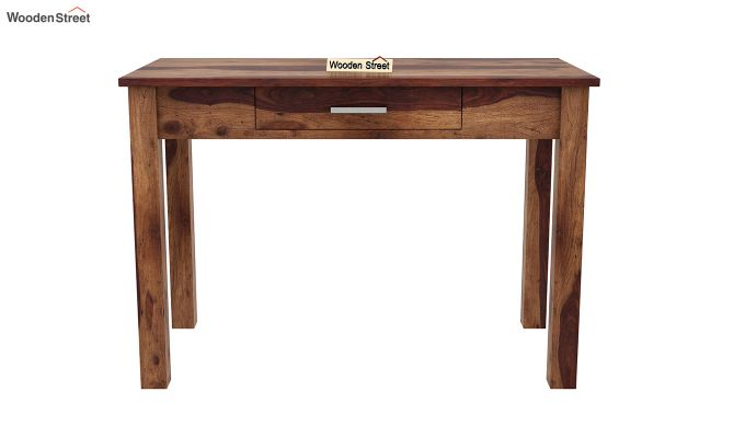 Wiley Study Table (Teak Finish)-3