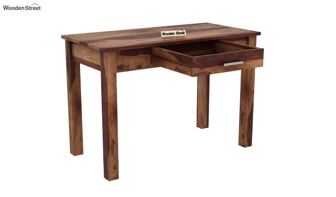 Wiley Study Table (Teak Finish)-4