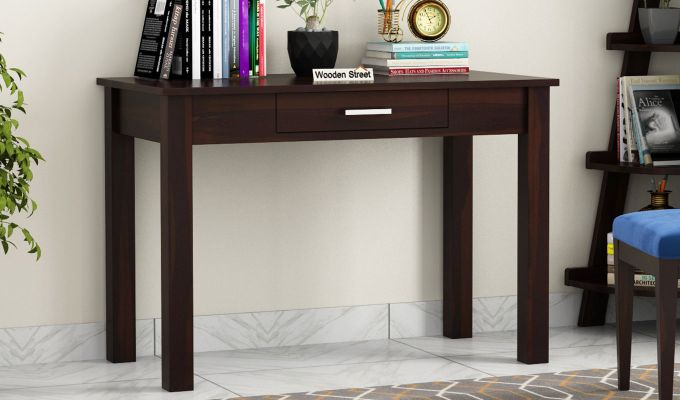 Wiley Study Table (Walnut Finish)-1
