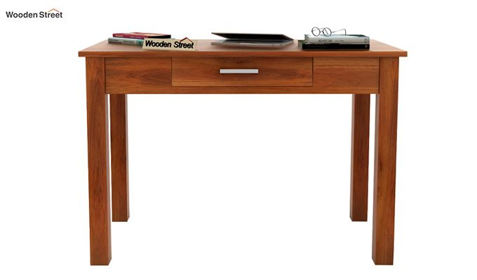 Wiley Study Table (Honey Finish)-2