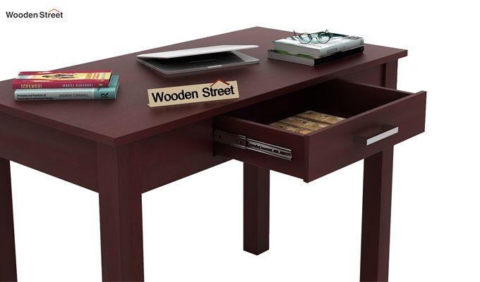 Wiley Study Table (Mahogany Finish)-4
