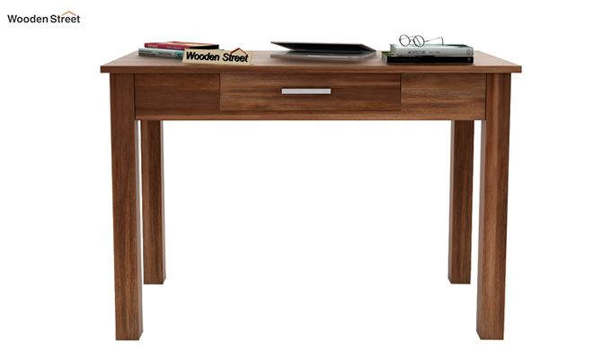 Wiley Study Table (Teak Finish)-2