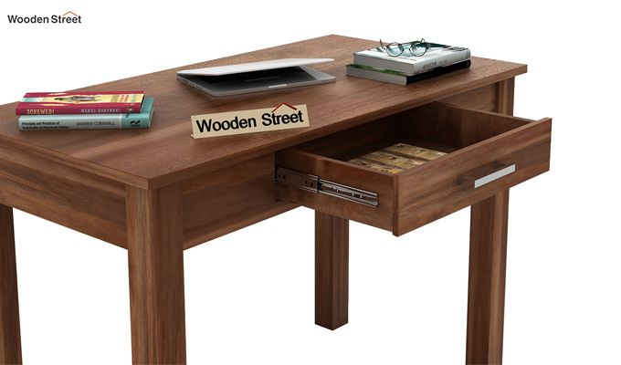 Wiley Study Table (Teak Finish)-5
