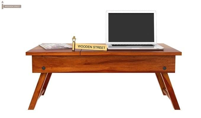 Zadran Study Table (Honey Finish)-8