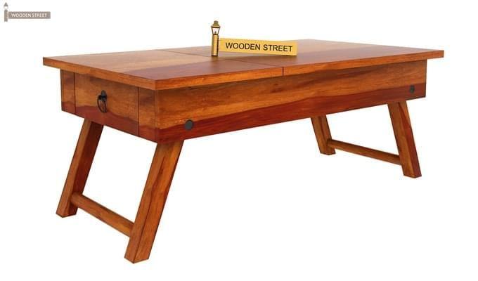 Zadran Study Table (Honey Finish)-2