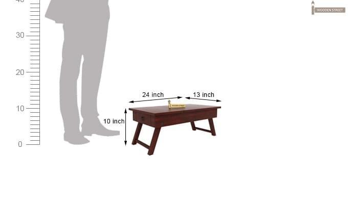 Zadran Study Table (Mahogany Finish)-3