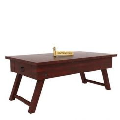 Zadran Study Table (Mahogany Finish)
