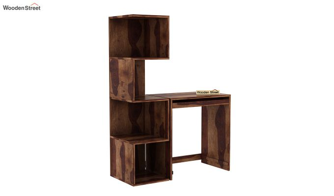 Zeneca Study Table (Teak Finish)-2