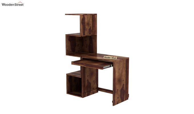 Zeneca Study Table (Teak Finish)-4