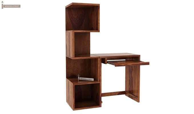 Zeneca Study Table (Teak Finish)-3