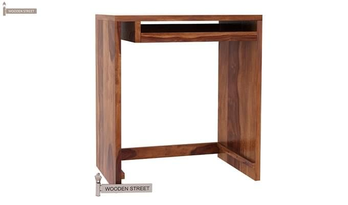 Zeneca Study Table (Teak Finish)-5