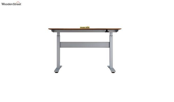 Remo Hydraulic Study Table (Exotic Teak Finish)-5