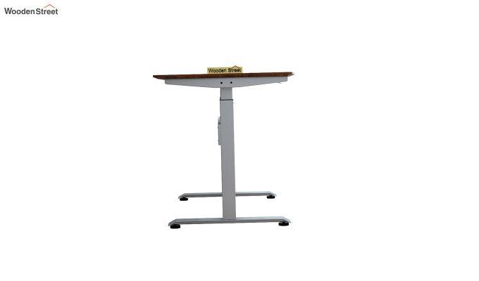 Remo Hydraulic Study Table (Exotic Teak Finish)-6