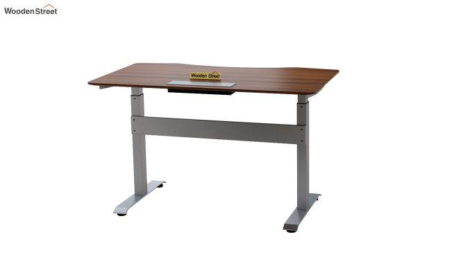 Remo Hydraulic Study Table (Exotic Teak Finish)-7