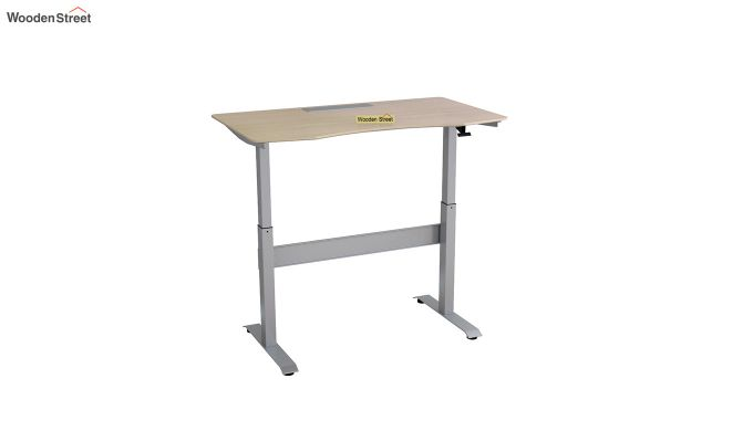 Remo Hydraulic Study Table (Ice Beech Finish)-4