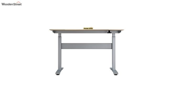 Remo Hydraulic Study Table (Ice Beech Finish)-5