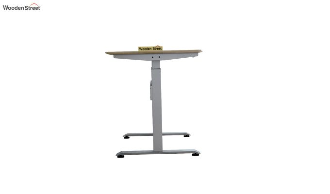 Remo Hydraulic Study Table (Ice Beech Finish)-6