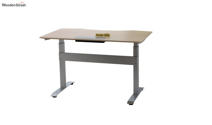 Remo Hydraulic Study Table (Ice Beech Finish)-7