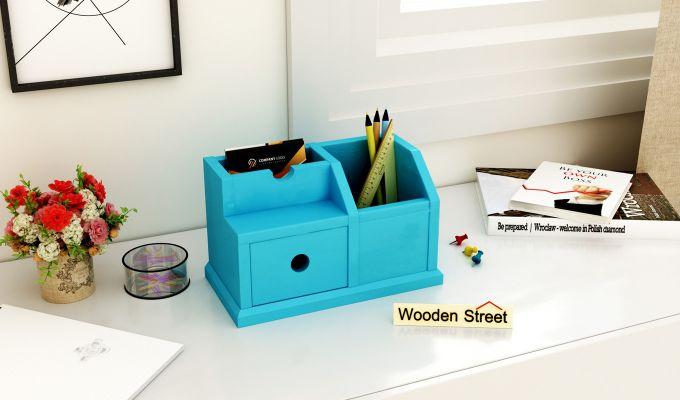 Lee Table Organizer (Blue)-1