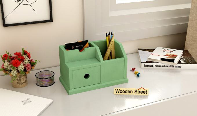 Lee Table Organizer (Green)-1