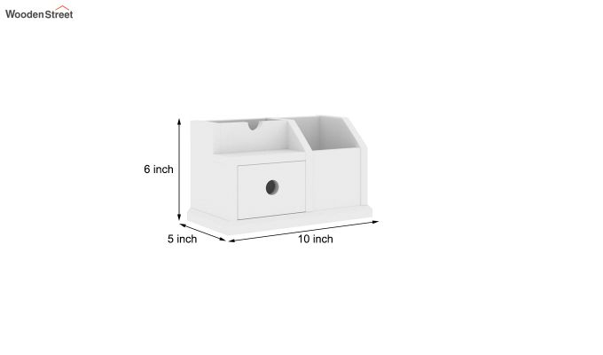 Lee Table Organizer (White)-5
