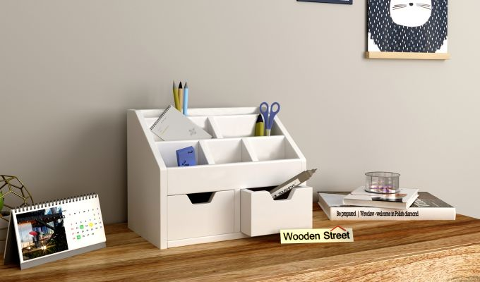 Colt Table Organiser (White)-1