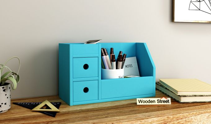 Pan Table Organizer (Blue)-1