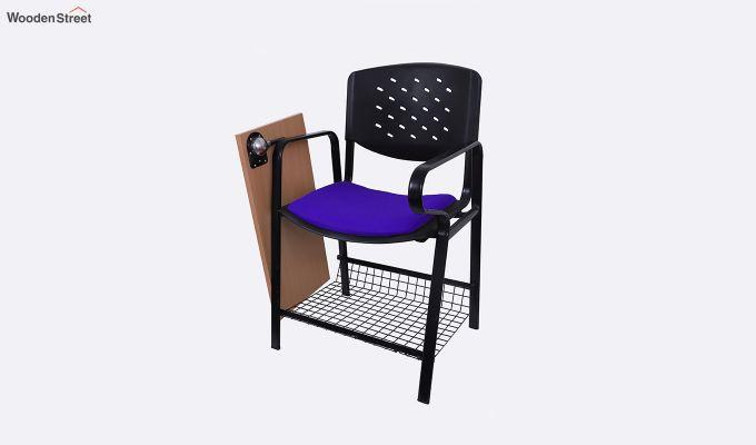 Powder Coated Heavy Frame Training Chair (Blue)-3