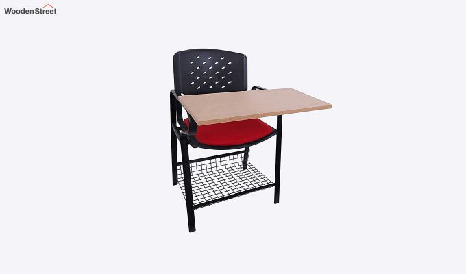 Powder Coated Heavy Frame Training Chair (Red)-1
