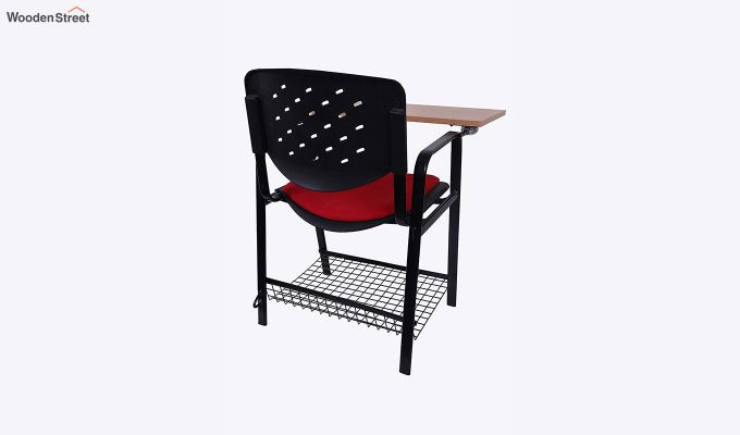 Powder Coated Heavy Frame Training Chair (Red)-2