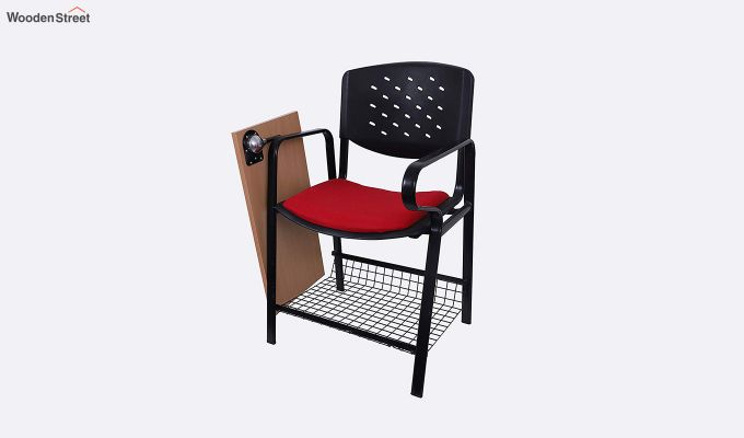 Powder Coated Heavy Frame Training Chair (Red)-3