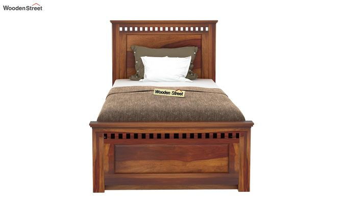 Adolph Trundle Bed (Honey Finish)-3