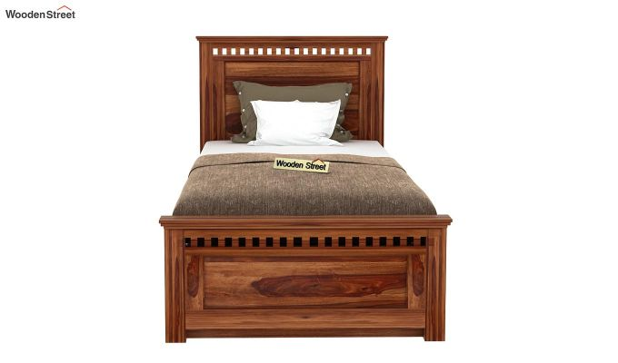 Adolph Trundle Bed (Teak Finish)-2