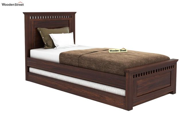Adolph Trundle Bed (Walnut Finish)-1