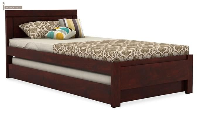 Cristiano Trundle Bed (Mahogany Finish)-2