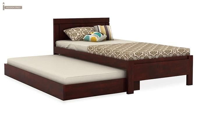 Cristiano Trundle Bed (Mahogany Finish)-3