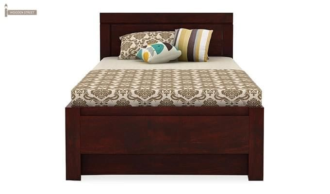 Cristiano Trundle Bed (Mahogany Finish)-4