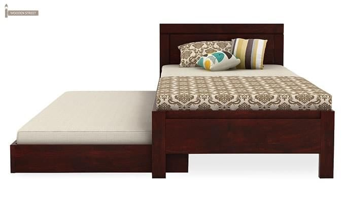 Cristiano Trundle Bed (Mahogany Finish)-5