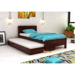 Cristiano Trundle Bed (Mahogany Finish)