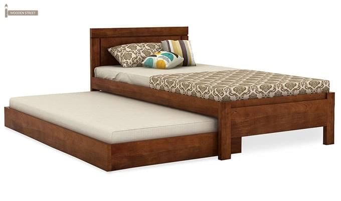 Cristiano Trundle Bed (Teak Finish)-3