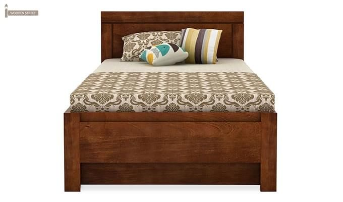 Cristiano Trundle Bed (Teak Finish)-4