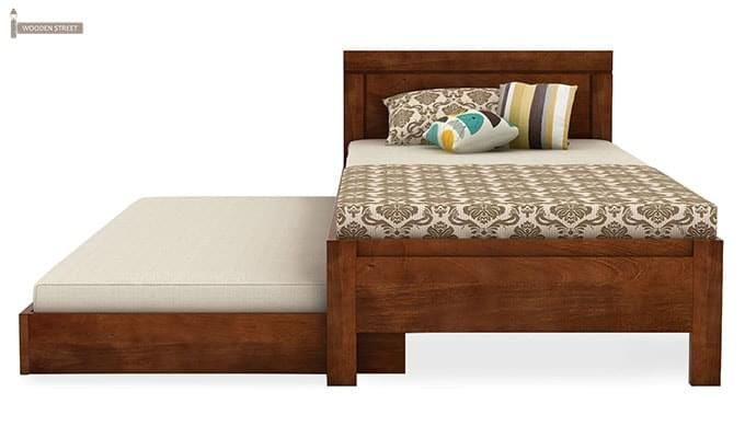 Cristiano Trundle Bed (Teak Finish)-5
